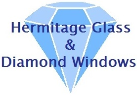 Hermitage Glass & Diamond Windows Logo